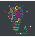Conceptual background Creative idea vector image