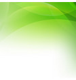 green abstract background with line vector image vector image