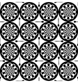 seamless dartboard pattern vector image
