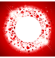StValentine Day Heart Background vector image