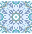 Background with Islamic Seamless Pattern vector image