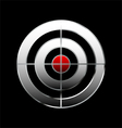 bullseye vector image vector image