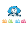 Cloud Play Logo Cloud Music Logo