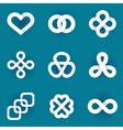 Design logo templates vector image vector image
