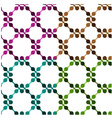 EPS10 tile seamless background vector image vector image