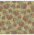 Flower pattern green vector | Price: 1 Credit (USD $1)