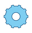gear wheel rotation vector image vector image