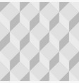 gray geometric seamless background with cubes vector image