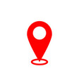 Map pointer icon gps location symbol flat design