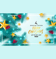 merry christmas saleuniversal background vector image