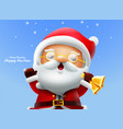 santa claus merry christmas vector image vector image