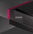 abstract monochromatic gray boxes background vector image vector image
