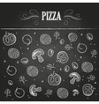 Chalk drawings Pizza