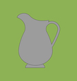 Decanter Carafe Icon vector image
