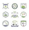 Golf Emblems Set vector image vector image
