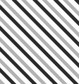 Monochrome pattern with thick gray and black vector image vector image