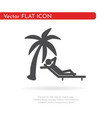 relax icon for web business finance and vector image vector image