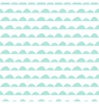 Scandinavian seamless mint pattern in hand drawn vector image vector image
