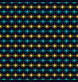 seamless pattern of stars seamless geometry vector image