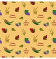 Seven species of the Shavuot seamless pattern vector image vector image