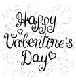 Valentines day vintage lettering background
