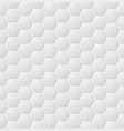 abstract white hexagon seamless pattern eps vector image