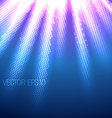 beautiful of rays vector image