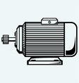 Electric motor vector image vector image