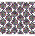 Floral seamless pattern in renaissance style vector image vector image