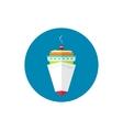 Icon passenger cruise ship vector image vector image