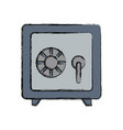 strongbox icon image vector image vector image