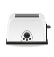 toaster 01 vector image