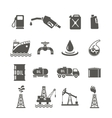 Petroleum Industry Icon Set vector image