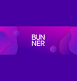 abstract banner with space for ad text vector image vector image