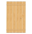 Barn Door vector image