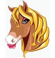 Horse head vector image vector image