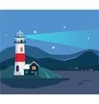 Light House Seascape vector image
