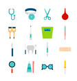 objects medical tools vector image vector image
