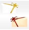 Holiday envelopes vector image
