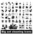 Big set Cleaning Icons vector image vector image