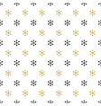 christmas new year seamless pattern with vector image vector image