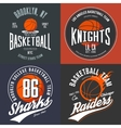 Design for basketball fans usa new york brooklyn vector image vector image