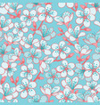 pastel cyan background with light blue vector image vector image