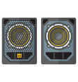 professional concert tour array subwoofer speakers vector image vector image