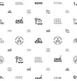 tanker icons pattern seamless white background vector image vector image