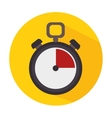 Timer clock icon vector image