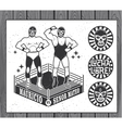 Lucha Libre Collection vector image vector image