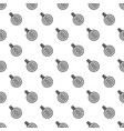 meal fry pan pattern seamless vector image