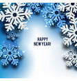 merry christmas greeting wit vector image vector image