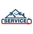 plumbing repairs and maintenance vector image vector image